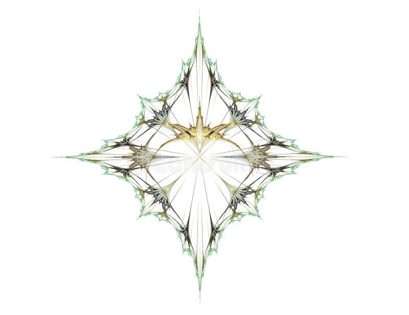 Exotische diamant stock illustratie