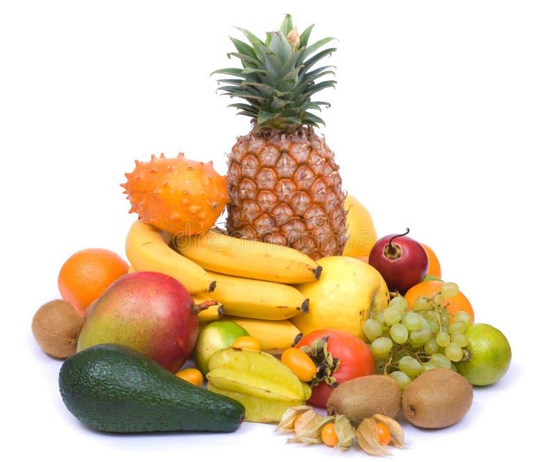 Exotische Früchte lizenzfreie stockfotos