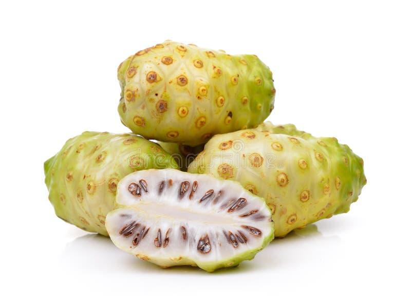 Exotische Frucht, Noni-Früchte stockfotografie