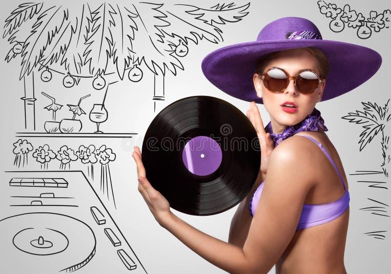Exotische Partij stock afbeelding
