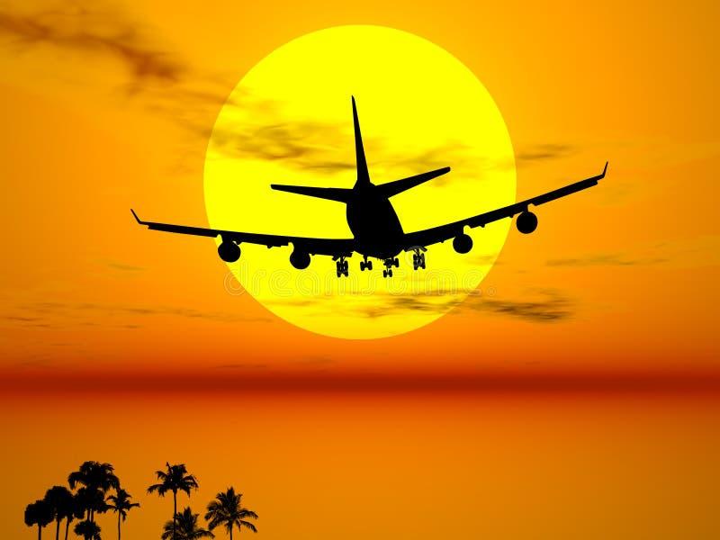Exotische reis vector illustratie