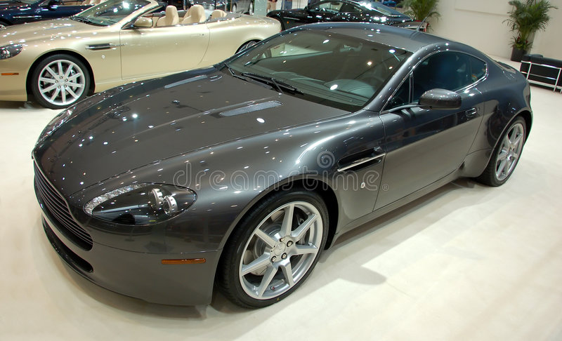 Exotische sportwagen royalty-vrije stock afbeelding