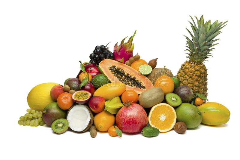 Exotische tropische vruchten stock afbeelding