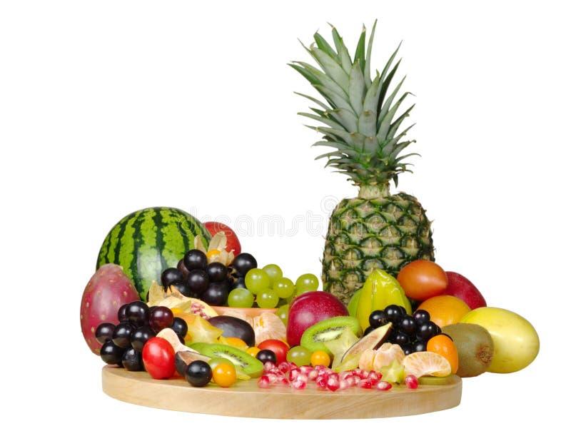 Exotische Vruchten stock afbeeldingen