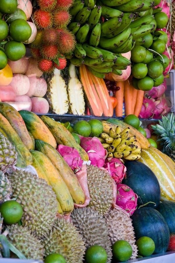 Exotische Vruchten Royalty-vrije Stock Afbeeldingen