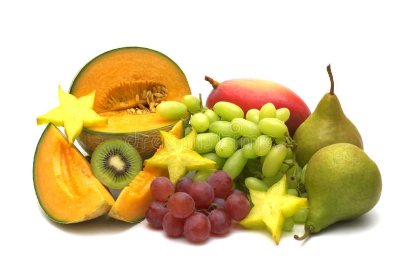 Exotische vruchten royalty-vrije stock afbeelding