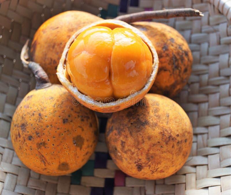 Exotische vruchten in Afrika royalty-vrije stock foto's