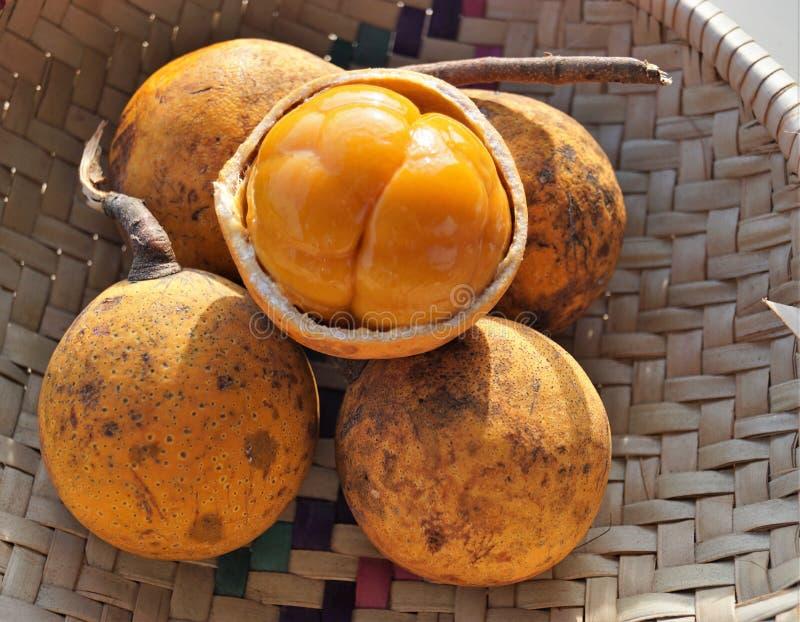 Exotische vruchten in Afrika royalty-vrije stock foto