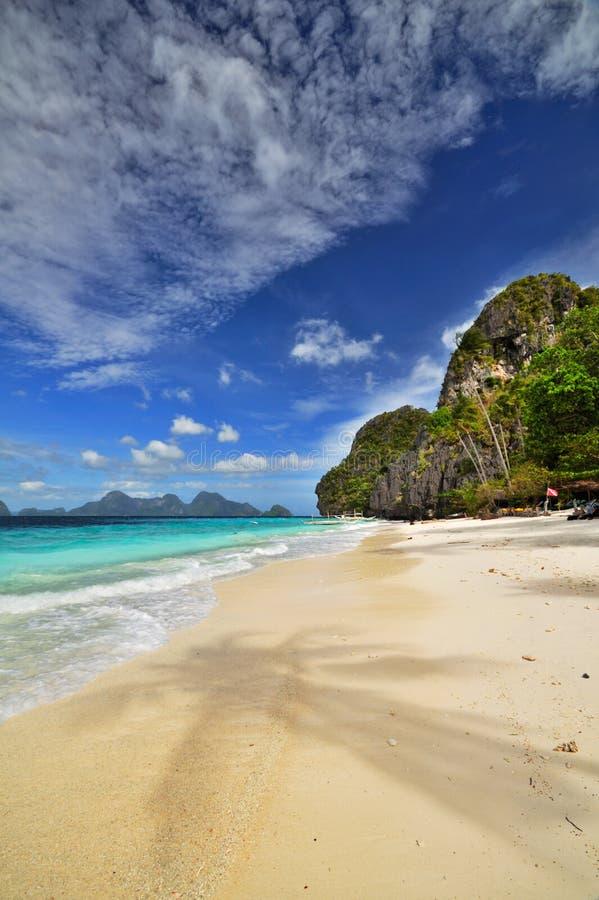 Exotischer Strand stockbilder