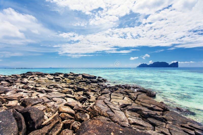 Download Exotischer Tropischer Strand. Stockfoto - Bild von horizont, strand: 26366440