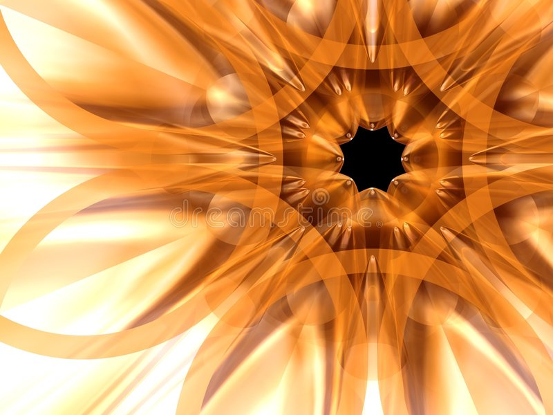 exotisk blomma 7 royaltyfri illustrationer