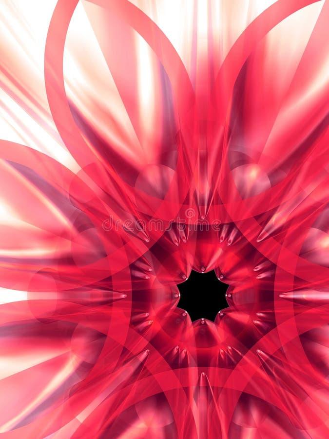 exotisk blomma 8 vektor illustrationer