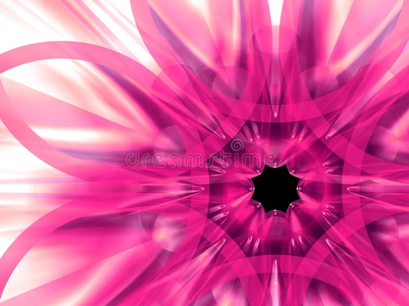 exotisk blomma 9 stock illustrationer