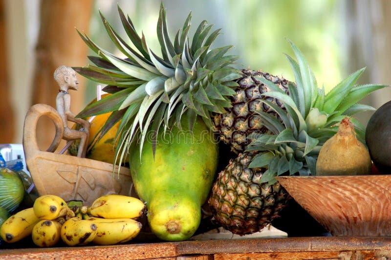 exotisk frukt zanzibar royaltyfria foton