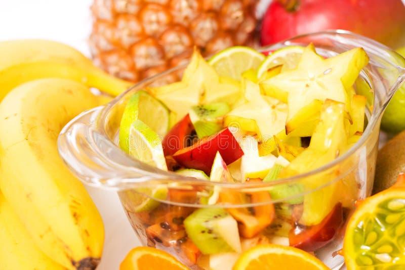 Download Exotisk sallad arkivfoto. Bild av vegetarian, starfruit - 3540598