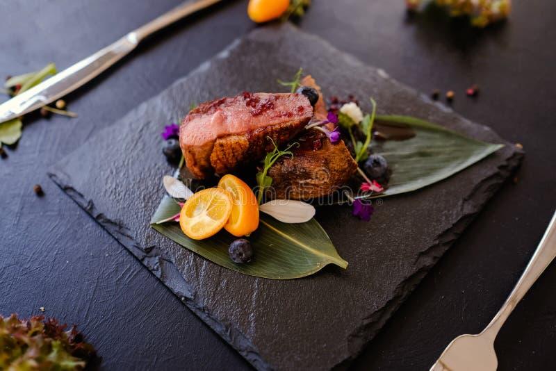 Exotiskt recept för Thailand kokkonstmål royaltyfri fotografi