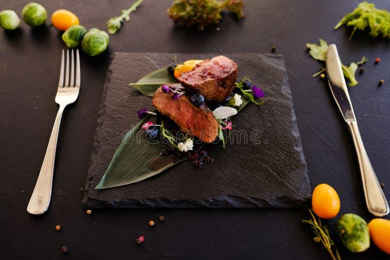 Exotiskt recept för Thailand kokkonstmål arkivfoto