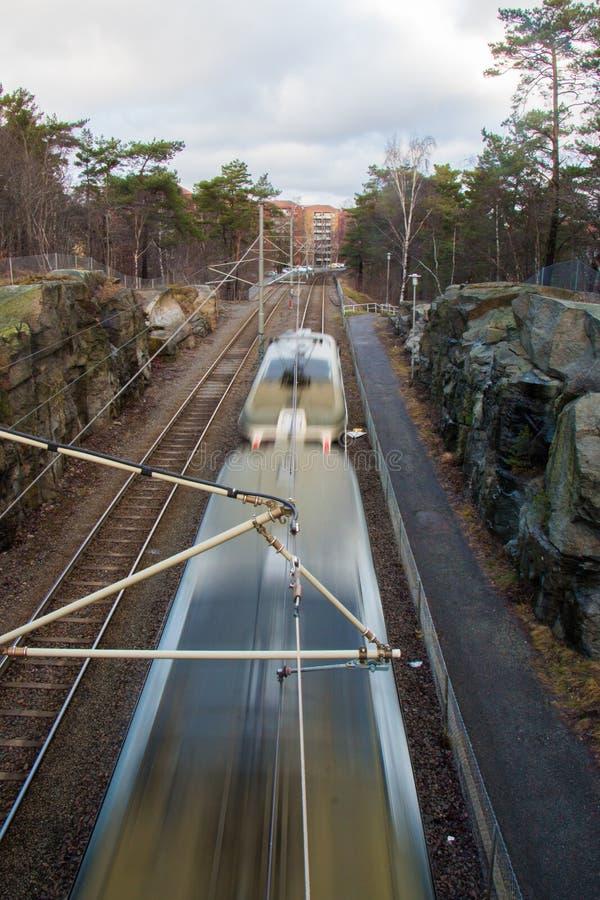 Expédier de tram image stock