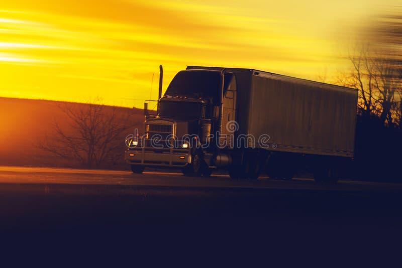 Expédition au sol de camion photos stock