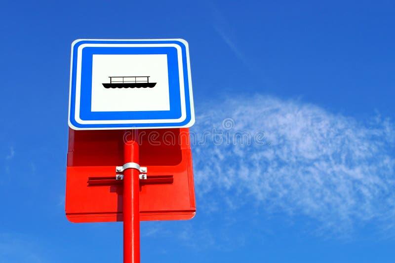 Expédition d'inscription du trafic image libre de droits