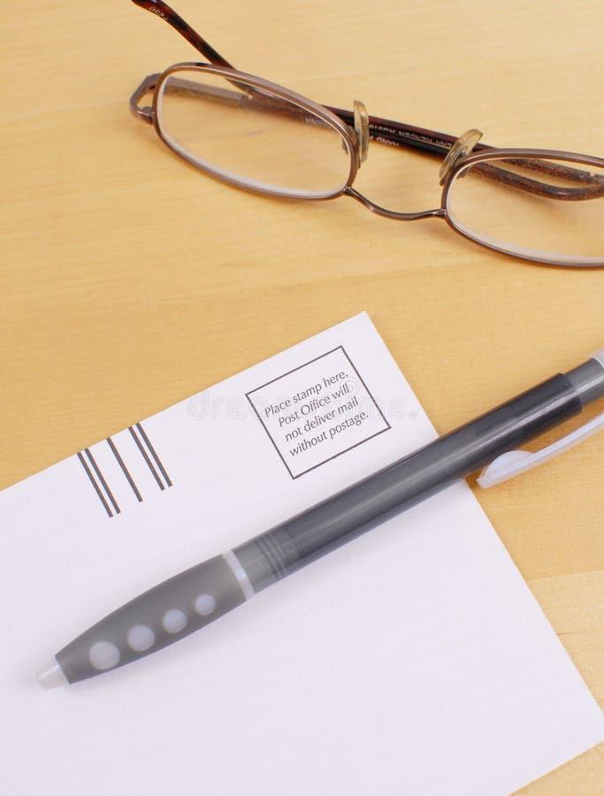 Expédition du courrier photographie stock libre de droits
