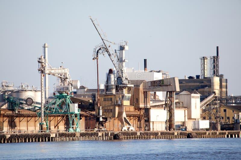 expédition industrielle de dock images stock