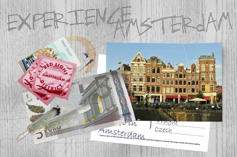 Expérience Amsterdam photographie stock libre de droits