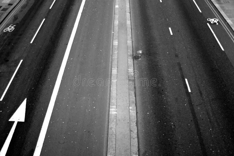 Expérience de route photographie stock libre de droits