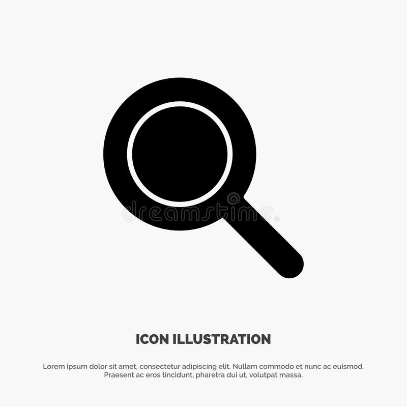 Expanded, Search, Ui solid Glyph Icon vector vector illustration