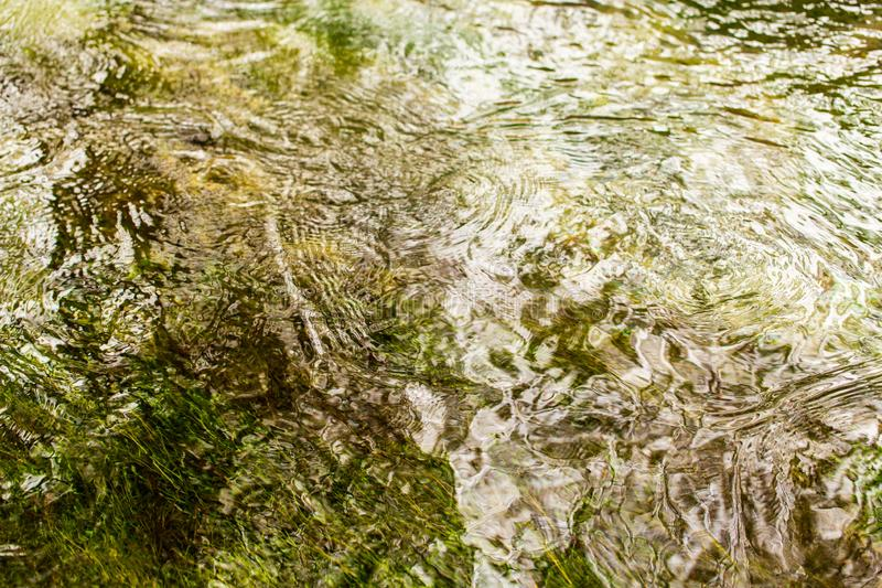 Expanse of water in the river as an abstract background stock photos