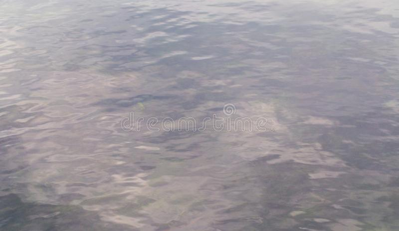 Expanse of water in the river as an abstract background stock images