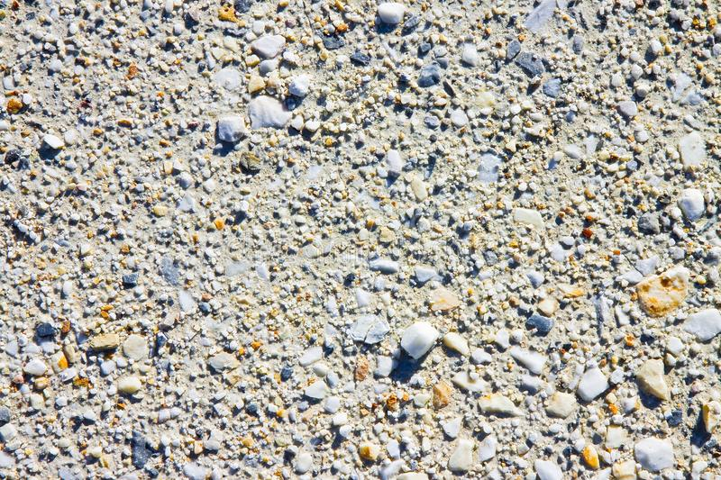 Expanse of white gravel background royalty free stock photo