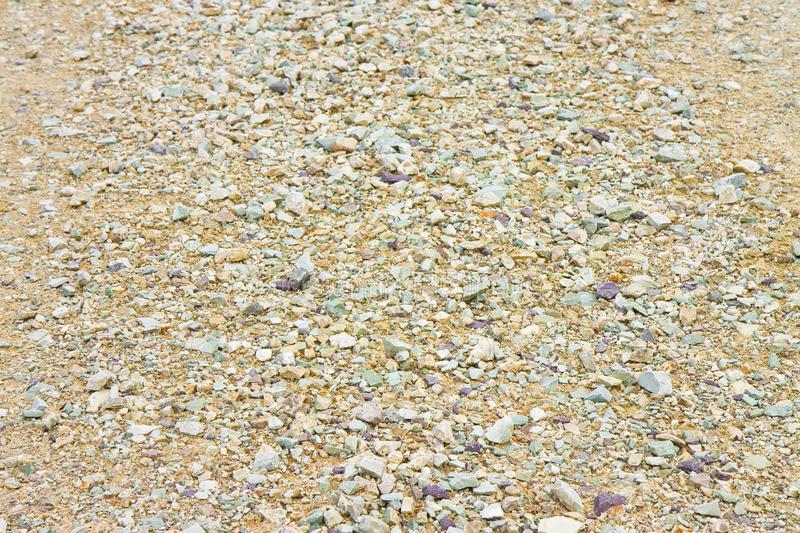 Expanse of white gravel. Useful image as background royalty free stock photography