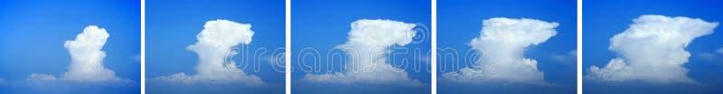 Expansion de nuage image stock