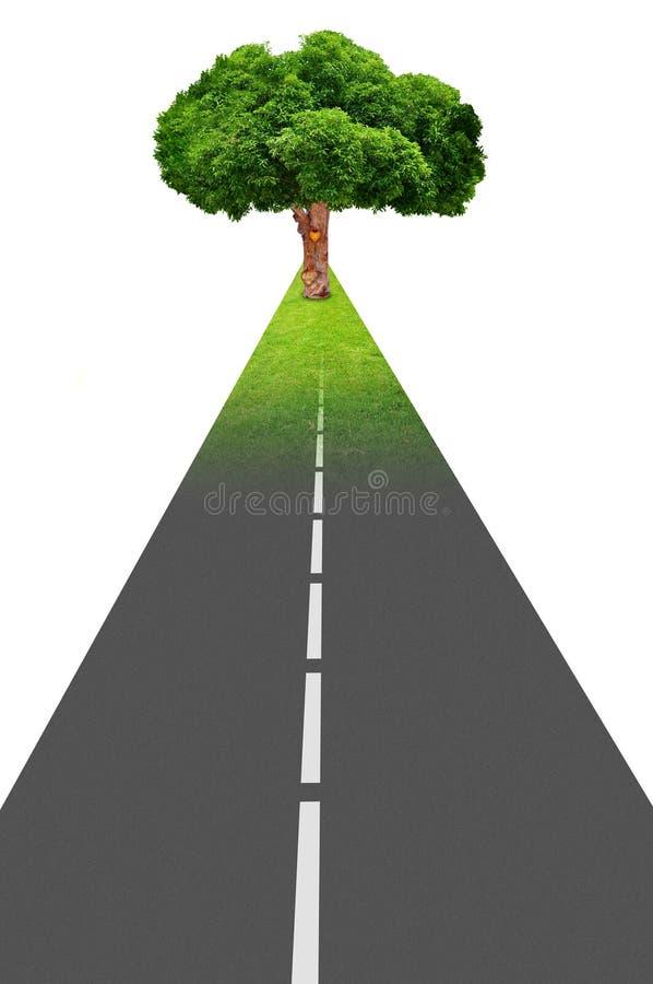 Expansion de route image stock