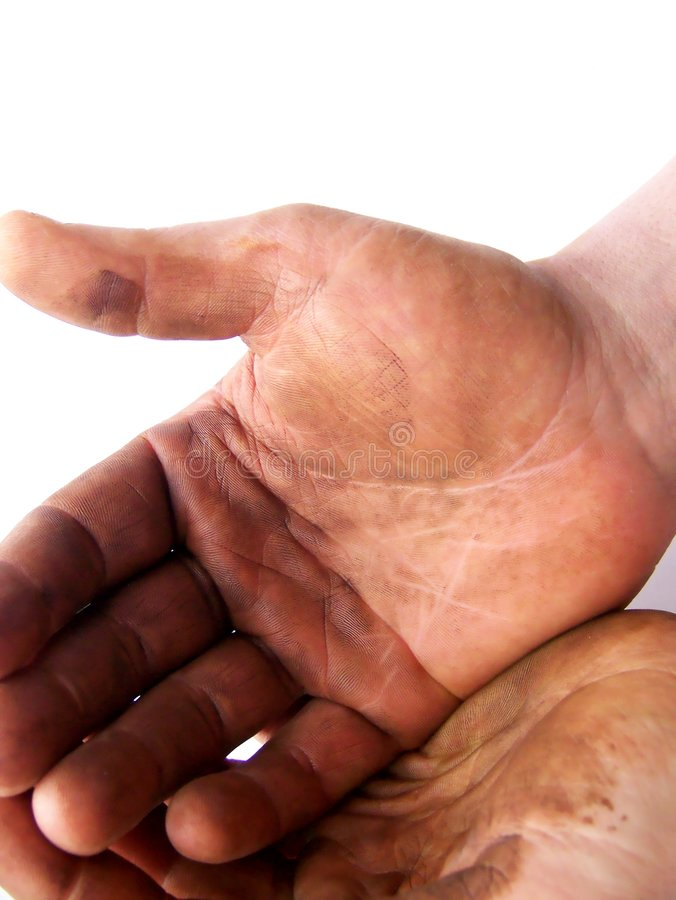 Download Expectant, Hardworking Hands Stock Photo - Image: 4618822