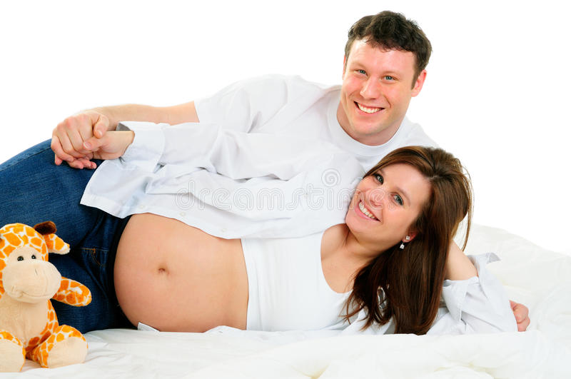 Expecting Parents stock images