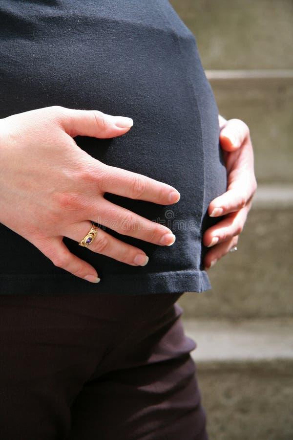 expectingmother στοκ φωτογραφίες με δικαίωμα ελεύθερης χρήσης