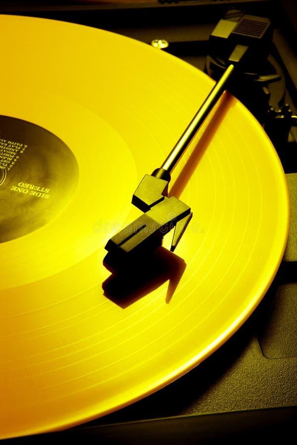 Expediente amarillo foto de archivo