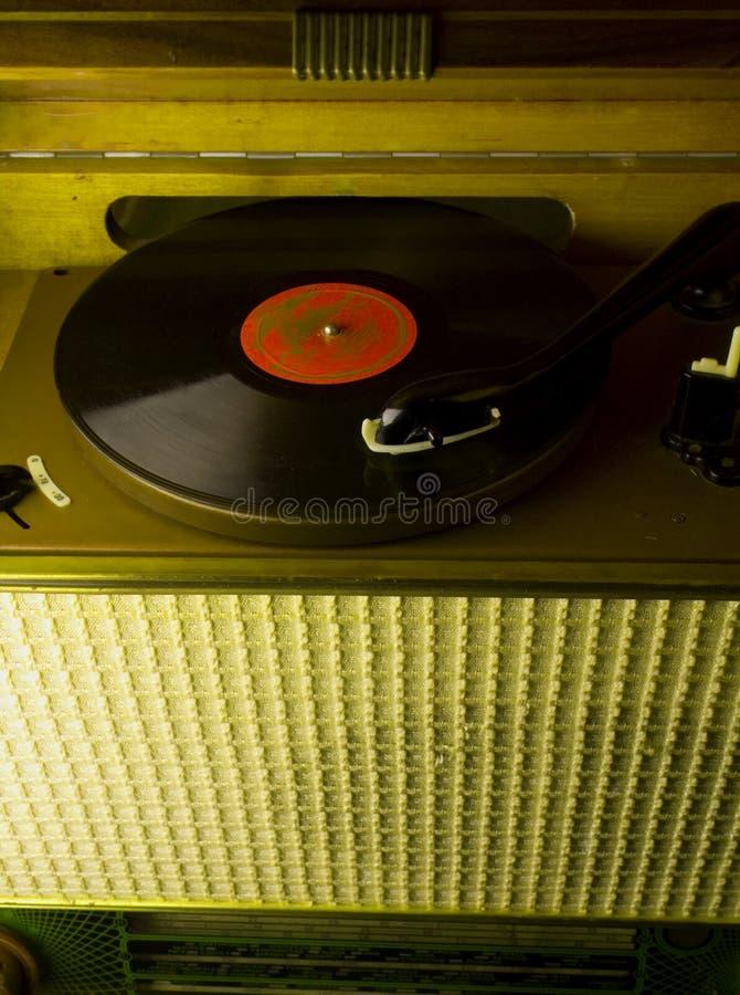 Expediente de fonógrafo, fotografía de archivo