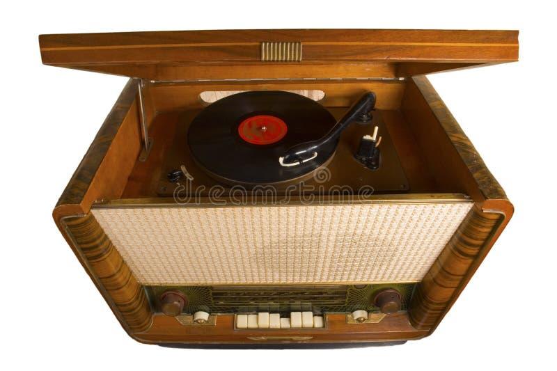 Expediente de fonógrafo, foto de archivo
