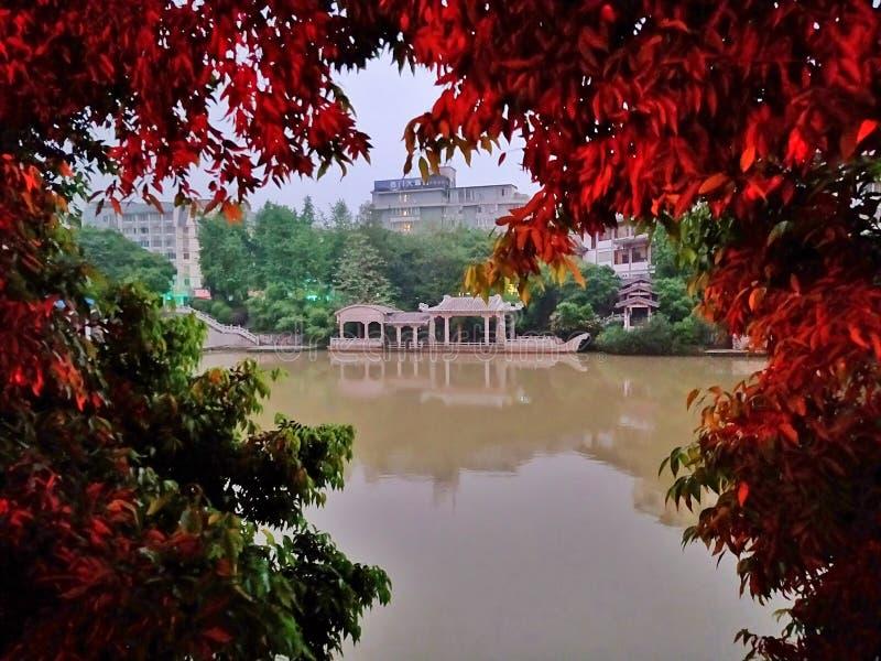Expediente del turismo de la primavera de la ciudad de China Guangxi Beihai foto de archivo libre de regalías