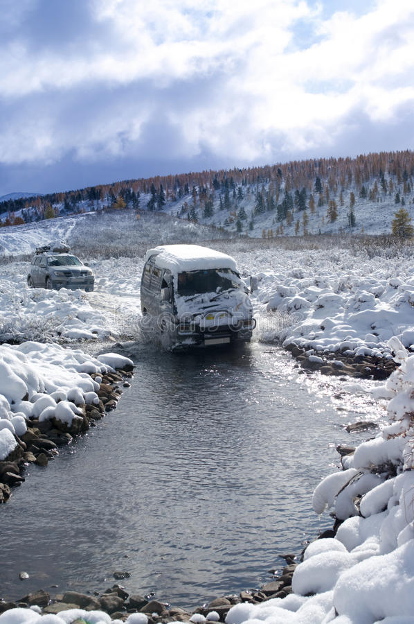 Download Expedition stock image. Image of crossing, danger, road - 11071083