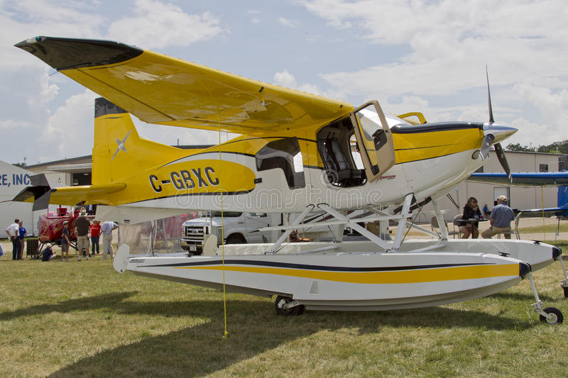 Expedition 350 Sea Plane Editorial Stock Image