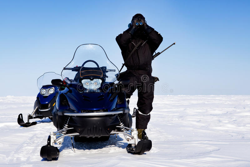 Expedition Guide royalty free stock photo