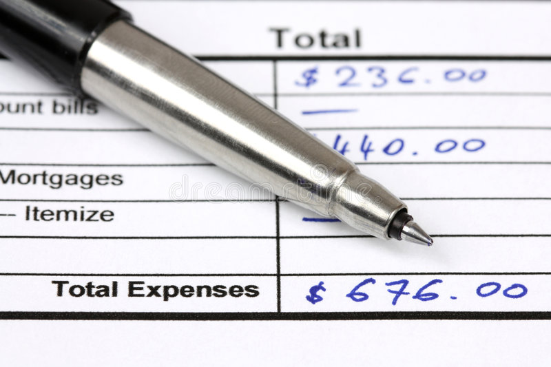 Download Expenses Royalty Free Stock Images - Image: 7759559
