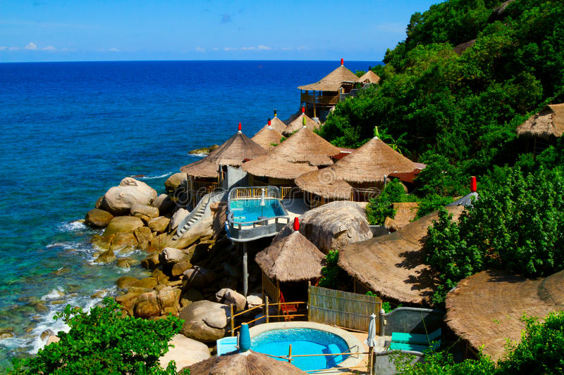 Download Expensive Bungalows At The Turtle Island Stock Photo - Image: 20651084