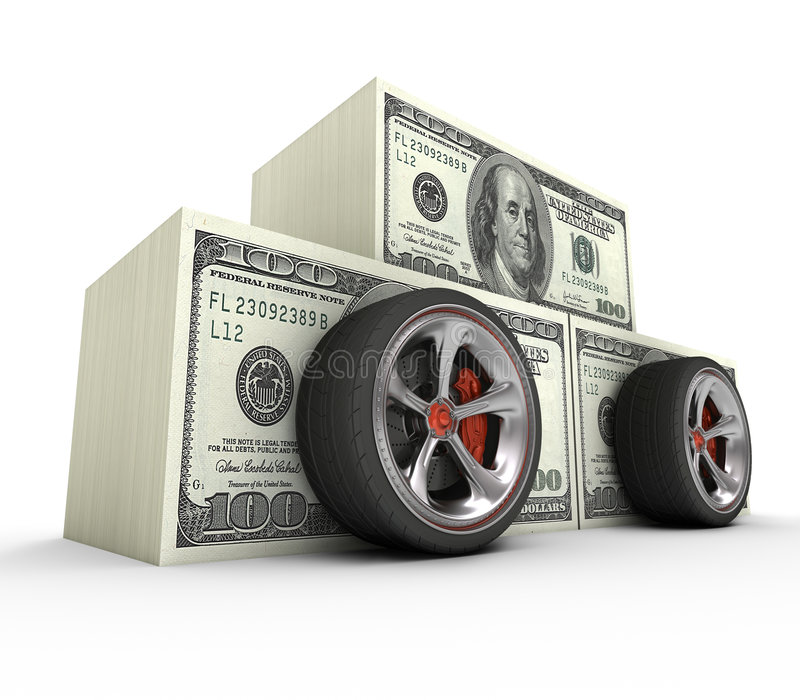 Expensive Car Royalty Free Stock Photography