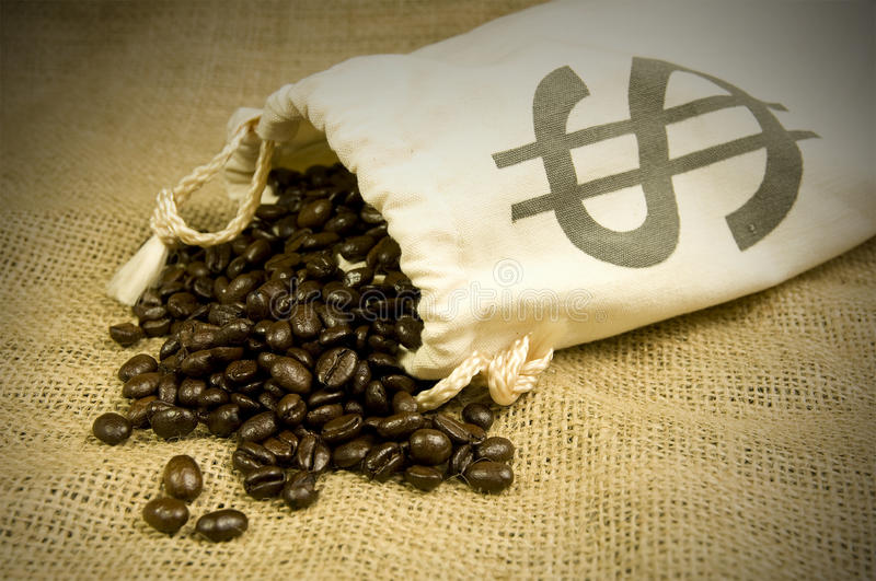 Download Expensive coffee beans stock photo. Image of luxury, home - 23420848