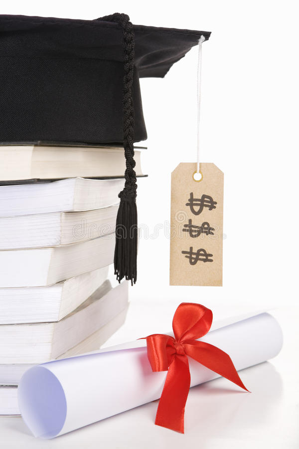 Download Expensive education stock photo. Image of dollar, label - 10092920